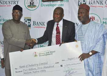 Nigerian govt launches N5 billion loan for small-scale miners