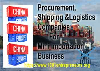 Procurement Shipping And Logistics Companies For Mini Importation Business