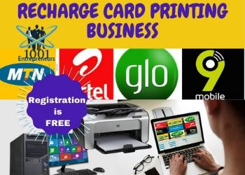 recharge card printing and vtu business